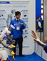 November 9th, 2011 : Tokyo, Japan &ndash; Service Robot SmartPal  performs during International Robot Exhibition 2011.  It can be controlled from far distance as the controller is that robot. This show is held to showcase new robots and high technology equipments at the Tokyo International Exhibit Center. International Robot Exhibition 2011 runs from November 9 &ndash; 12. (Photo by Yumeto Yamazaki/AFLO)