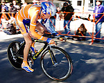 Robert Gesink 150 meters from the line at the Stage 5 time trial in Solvang.