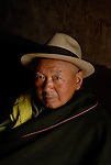Man in Northern Sichuan or Szichuan, China.