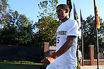 26 August 2016: Wake Forest's Steven Echevarria. The Wake Forest University Demon Deacons hosted the Saint Louis University Billikens in a 2016 NCAA Division I Men's Soccer match. SLU won the game 1-0.