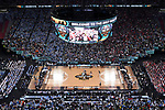 GLENDALE, AZ - APRIL 03: Isaiah Hicks #4 of the North Carolina Tar Heels tips offwith Johnathan Williams #3 of the Gonzaga Bulldogs during the 2017 NCAA Men's Final Four National Championship game at University of Phoenix Stadium on April 3, 2017 in Glendale, Arizona.  (Photo by Chris Steppig/NCAA Photos via Getty Images)