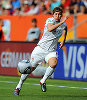 Amy Le Peilbet of team USA during the FIFA Women's World Cup at the FIFA Stadium in Sinsheim, Germany on July 2nd, 2011.