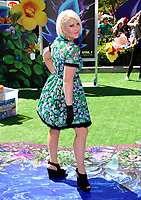 Singer Shaley Scott at the world premiere for &quot;Smurfs: The Lost Village&quot; at the Arclight Theatre, Culver City, USA 01 April  2017<br /> Picture: Paul Smith/Featureflash/SilverHub 0208 004 5359 sales@silverhubmedia.com