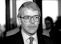 John Major, Prime Minister, MP, Conservative Party, UK, at annual conference, October 1992. 19921063JM..Copyright Image from Victor Patterson, 54 Dorchester Park, Belfast, UK, BT9 6RJ..Tel: +44 28 9066 1296.Mob: +44 7802 353836.Voicemail +44 20 8816 7153.Skype: victorpattersonbelfast.Email: victorpatterson@me.com.Email: victorpatterson@ireland.com (back-up)..IMPORTANT: If you wish to use this image or any other of my images please go to www.victorpatterson.com and click on the Terms & Conditions. Then contact me by email or phone with the reference number(s) of the image(s) concerned.
