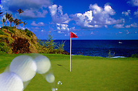 Kauai Hawaii Jack Nicklaus ocean Golf Kauai Lagoons - Kiele Golf Course Hawaii