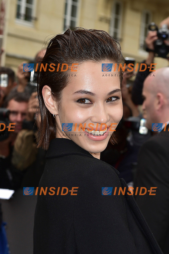 Kiko Mizuhara  <br /> Dior fashion show arrivals - Paris - 30/09/2016