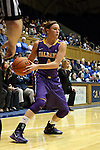 19 December 2013: Albany's Sarah Royals. The Duke University Blue Devils played the University at Albany, The State University of New York Great Danes at Cameron Indoor Stadium in Durham, North Carolina in a 2013-14 NCAA Division I Women's Basketball game. Duke won the game 80-51.