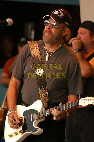 HANK WILLIAMS JR.Jamboree in the Hills  .Morristown, 16th July 2005.stage gig country music festival half length half-length .Ref: Kelly Belcher.www.capitalpictures.com.sales@capitalpictures.com.© Capital Pictures.