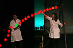 Physics Show entertains crowd