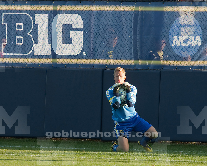 The University of Michigan men's soccer team lost, 1-0, to Northwestern at the UM Soccer Complex in Ann Arbor, Mich., on November 5, 2011.