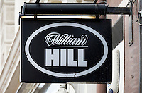William Hill, bookmakers sign - Aug 2013.