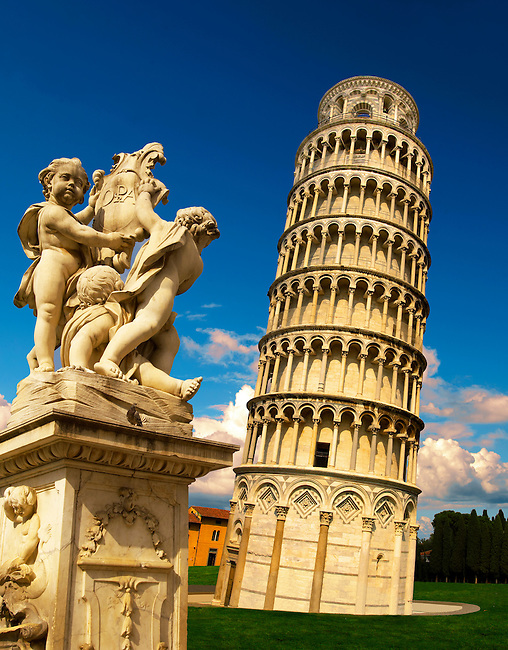 Leaning tower of pisa pizza del miracoli pisa italy
