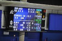 SPEEDSKATING: CALGARY: 15-11-2015, Olympic Oval, ISU World Cup, 1500m Ladies, results, Brittany Bowe (USA), world record: 1.51,59, ©foto Martin de Jong
