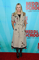 NEW YORK, NY - OCTOBER 01:  Aviva Drescher attends the New York Screening of Middle School: The Worst Years of My Life at Regal E-Walk on October 1, 2016 in New York City. Photo Credit: John Palmer/MediaPunch