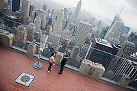 View from the top of the Rockefeller Center
