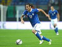 Fussball International  WM Qualifikation 2014   Italien - Daenemark                16.10.2012 Pablo Osvaldo (Italien)