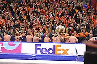 SCHAATSEN: HEERENVEEN: IJsstadion Thialf, 23-03-2014, Essent ISU WK Allround, ©foto Martin de Jong