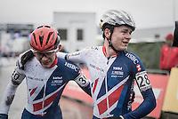 Thomas Pidcock (GBR) wins the Mens Junior Race