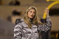 08 November 2007: ESPN sideline reporter Erin Andrews..The West Virginia Mountaineers defeated the Louisville Cardinals 38-31 on November 08, 2007 at Mountaineer Field, Morgantown, West Virginia. .