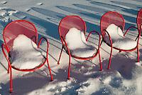 Olympic Sculpture Park + Snow