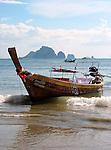 Long Tail Boats near Krabi, Thailand