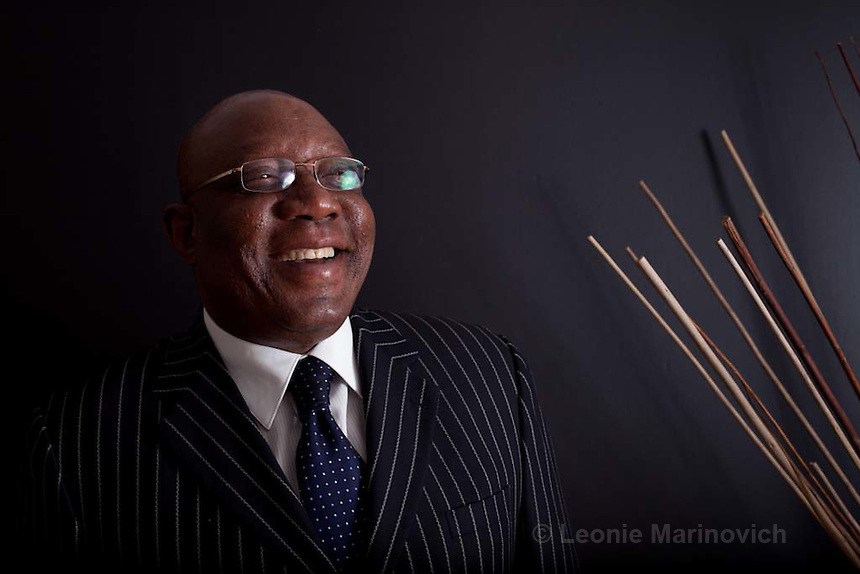 16 August 2011. South African Human Rights Commission Chairperson Adv Mabedle Lawrence Mushwana