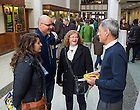Feb. 15 2014; Junior Parents Weekend events at Jordan Hall of Science.<br /> <br /> Photo by Matt Cashore/University of Notre Dame