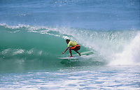Sunny Garcia (HAW) on his way to winning the 1994 Billabong Pro at Kirra on Queensland's Gold Coast. Photo: joliphotos.com