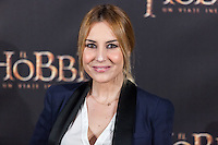 "Berta Collado attends  ""The Hobbit: An Unexpected Journey"" premiere at the Callao cinema- Madrid."