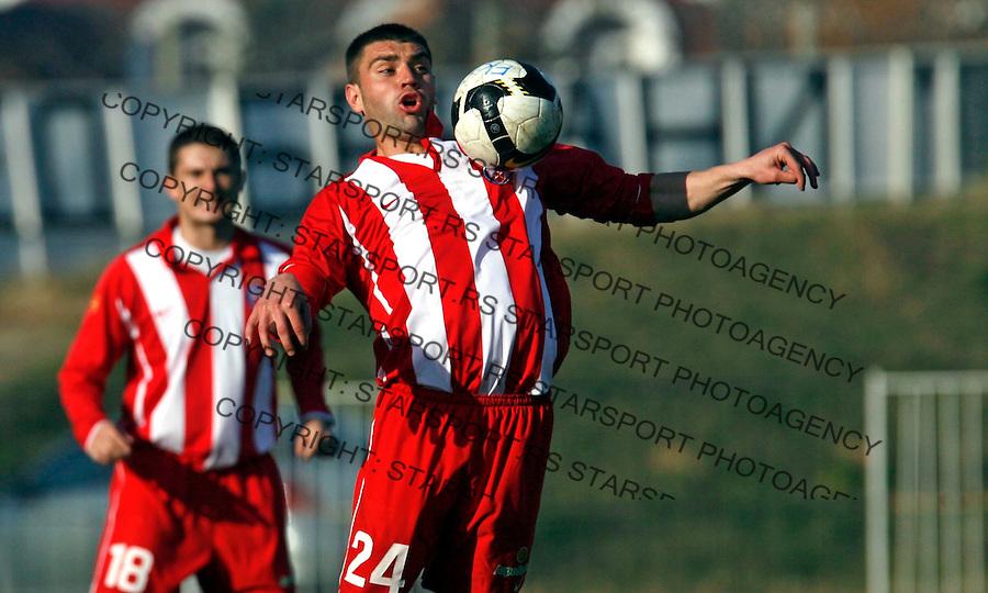Pavle Ninkov Sport Fudbal Soccer Crvena Zvezda Cukaricki Stankom Jelen Superliga 21.11.2009. (credit image photo: Pedja Milosavljevic 2009 / +381 64 1260 959 thepedja@gmail.com)