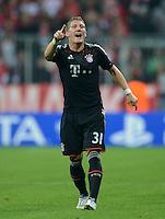 FUSSBALL   CHAMPIONS LEAGUE   SAISON 2012/2013   GRUPPENPHASE   FC Bayern Muenchen - FC Valencia                            19.09.2012 Bastian Schweinsteiger (FC Bayern Muenchen)