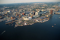 1991 June ..Redevelopment.Downtown South (R-9)..HELICOPTER.LOW OBLIQUE.HARBORFEST.DOWNTOWN WATERFRONT...NEG#.NRHA#..