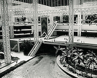 UNDATED...Norfolk Gardens..MEGASTRUCTURE CONTAINS ICE RINK, OTHER ATTRACTIONS..The Norfolk Gardens ice skating rink is located at second level of the 17 acre structure.  A restaurant is situated beneath it on the banks of the three acre lake at ground level.  An escalator will carry people to the third level for rides and related amusement attractions...NEG#.NRHA#..