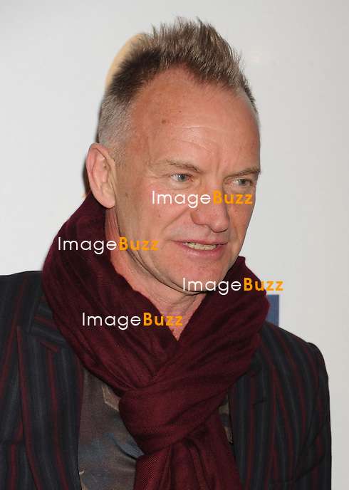 BEVERLY HILLS, CA - FEBRUARY 09: Sting arrives at the The 55th Annual GRAMMY Awards - Pre-GRAMMY Gala And Salute To Industry Icons Honoring L.A. Reid at the Beverly Hilton Hotel on February 9, 2013 in Beverly Hills, California.