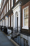 Queen Annes Gate, Westminster London SW1. UK. 17th century family homes now offices.