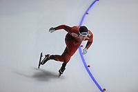 SPEEDSKATING: CALGARY: 14-11-2015, Olympic Oval, ISU World Cup, 1000m B-division, Sverre Lunde Pedersen (NOR), ©foto Martin de Jong