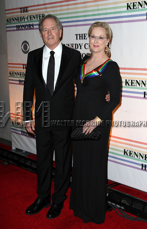 Don Gummer & Meryl Streep.arriving for the 34th Kennedy Center Honors Presentation at Kennedy Center in Washington, D.C. on December 4, 2011
