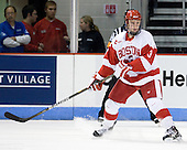 Charlie Coyle (BU - 3) - The Boston University Terriers defeated the visiting University of Toronto Varsity Blues 9-3 on Saturday, October 2, 2010, at Agganis Arena in Boston, MA.