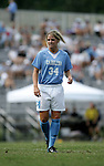 Mandy Moraca, of UNC, on Sunday September 18th, 2005 at Duke University's Koskinen Stadium in Durham, North Carolina. The University of North Carolina Tarheels defeated the University of Alabama-Birmingham Blazers 4-0 during the Duke adidas Classic soccer tournament.