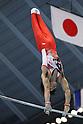 Kohei Uchimura (JPN), JULY 2nd, 2011 - Artistic gymnastics : Japan Cup 2011 .Men's Team Competition Horizontal Bar at Tokyo Metropolitan Gymnasium, Tokyo, Japan. (Photo by YUTAKA/AFLO SPORT)