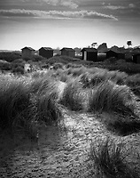 Beach Huts, Walberswick, Southwold,  Suffolk, 2008