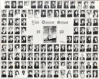 1988 Yale Divinity School Senior Portrait Class Group Photograph