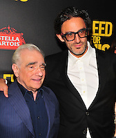 NEW YORK,NY November 014 : Martin Scorcese, Ben Yonger attends as Open Road with Men's Fitness host the premiere of 'Bleed For This' at AMC Lincoln Square Theater on November 14, 2016 in New York City..@John Palmer / Media Punch
