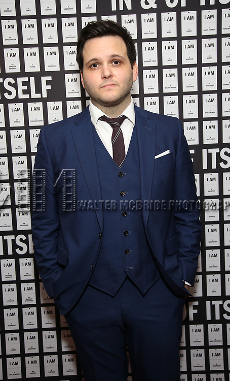 Derek DelGaudio attends the Opening Night after party for 'In & Of Itself' at ACE Hotel on April 12, 2017 in New York City.