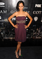 NEW YORK CITY, NY, USA - SEPTEMBER 15: Victoria Cartagena arrives at the New York Series Premiere Of 'Gotham' held at the New York Public Library on September 15, 2014 in New York City, New York, United States. (Photo by Celebrity Monitor)