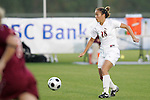 05 November 2008: Florida State's Rachel Lim (28). Virginia Tech and Florida State University played to a 0-0 tie after two overtimes at Koka Booth Stadium at WakeMed Soccer Park in Cary, NC in a women's ACC tournament quarterfinal game.  Virginia Tech advanced to the semifinal round in penalty kicks, 4-2.