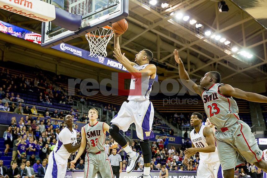 University of Washington men's basketball team defeats Saint Martins University | Huskies Photo ...