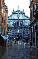 Venice:  San Moise, near Piazza San Marco, 1668.  Alessandro Tremignon.  AGE OF GRANDEUR, pp. 194-195.  Photo '83.