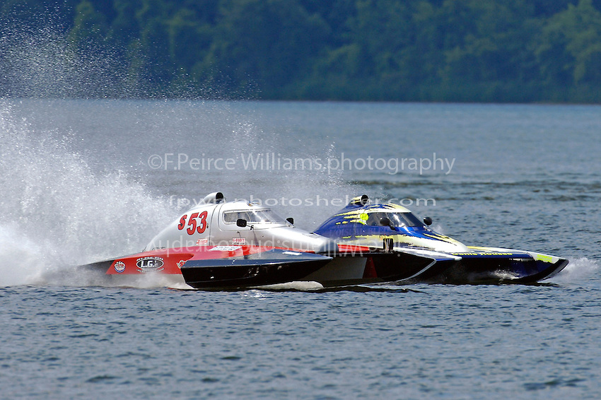 John Shaw, S-53 and CS-222 (2.5 Litre Stock hydroplane(s)