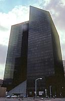 Philip Johnson: Pennzoil Place--Silhouette.  Photo '80.